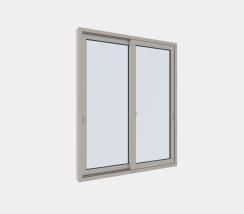 引違い窓(2枚建)