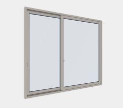 片引き窓(均等/偏芯)